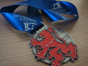 Médaille 3ème Marathon ING du Luxembourg